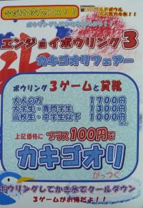 エンジョイボウリング3カキゴオリフェア-